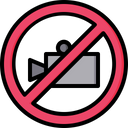 Prohibited videography Icon