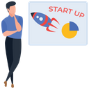 Project Start Up Icon