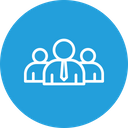 Project Team Management Icon
