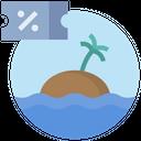Voucher Sea Attraction Icon