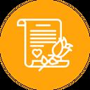 Propose Letter Love Icon