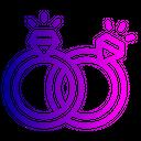 Propose Engagement Ring Icon
