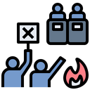 Riot Demonstrate Fight Icon