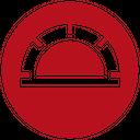 Protractor Plain Icon