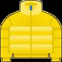 Puffer Jacket Padding Winter Jacket Icon