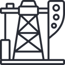 Pumpjack Oil Extract Oil Icon