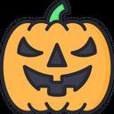 Pumpkin Scary Face Face Icon
