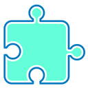 Puzzle Expansion Solution Icon