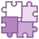 Puzzle Business Goal Icon
