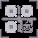 Qr Code Scan Qr Code Barcode Icon