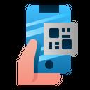 Qr Code Scan Phone Icon