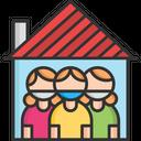 Quarantine in House Icon