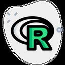 R Project Technology Logo Social Media Logo Icon