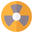 Radiation Pollution Power Icon
