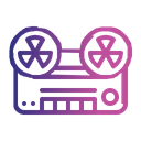 Radio Frequency Tape Icon