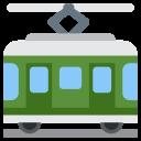 Railway Car Electric Icon
