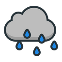 Rain Weather Cloud Icon