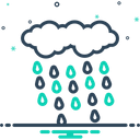 Rain Rainfall Precipitation Icon