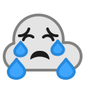 Rain Cloud Cry Icon