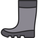 Rain Boots Rubber Shoes Safety Shoes Icon