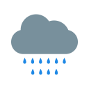 Rain Clouds Cloudy Icon