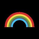 Rainbow After Rain Icon