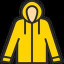 Women Raincoat Raincoat Poncho Icon