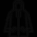 Raincoat Coat Rain Icon