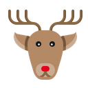 Raindeer Christmas Deer Icon