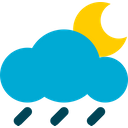 Rainy Weather Rain Icon
