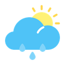 Rainy Weather Weather Forecast Icon