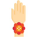 Rakhi On Hand Showcase Rakshabandhan Icon