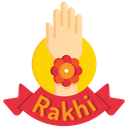 Rakshabandhan Rakshabandhan Badge Rakhi In Hand Icon