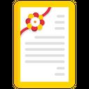 Rakshabandhan Greeting Card Icon