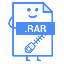 Rar Extension Icon