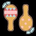 Rattle Toy Kid Icon