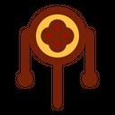 Rattle Drum Instrument Celebrate Icon