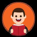 Read Book Knowledge Icon