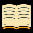 Reading Open Bok Book Icon