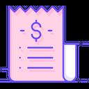 Receipt Bill Invoice Icon
