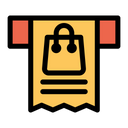 Receipt Bag Icon