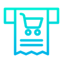 Receipt Cart Icon