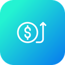 Receive Payment Bank Icon