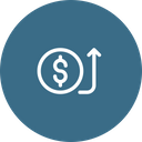 Receive Payment Money Icon