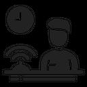 Reception Receptionist Hotel Icon