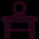 Receptionist Desk Service Icon