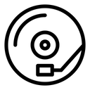 Record Player Music Gramophone Icon