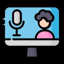 Recording Microphone Camera Icon