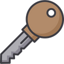 Recovery Key Encryption Key Decryption Key Icon