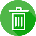 Recycle Delect Dustbin Icon